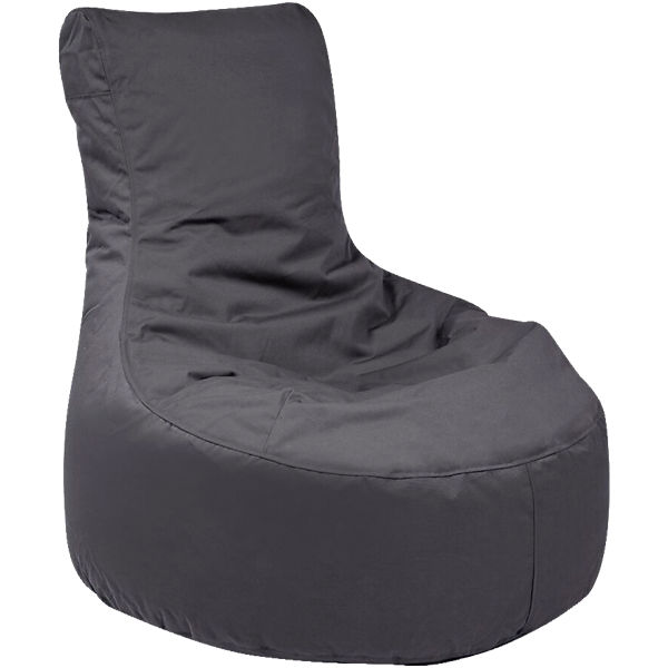 Outdoor-Sitzsack Slope, Plus, anthrazit