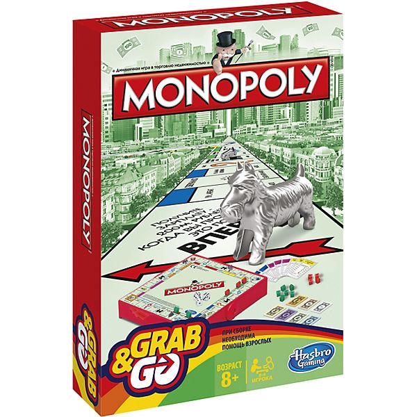 """Настольная игра Hasbro Gaming """"Монополия"""" Дорожная"""