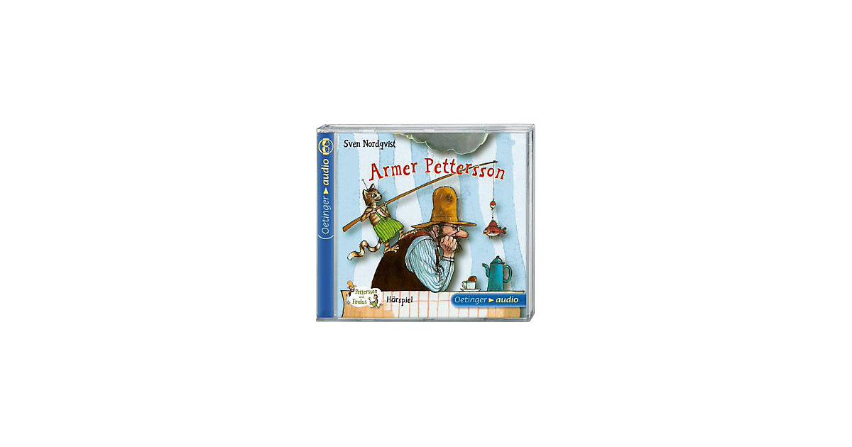 Pettersson & Findus: Armer Pettersson, 1 Audio-CD Hörbuch