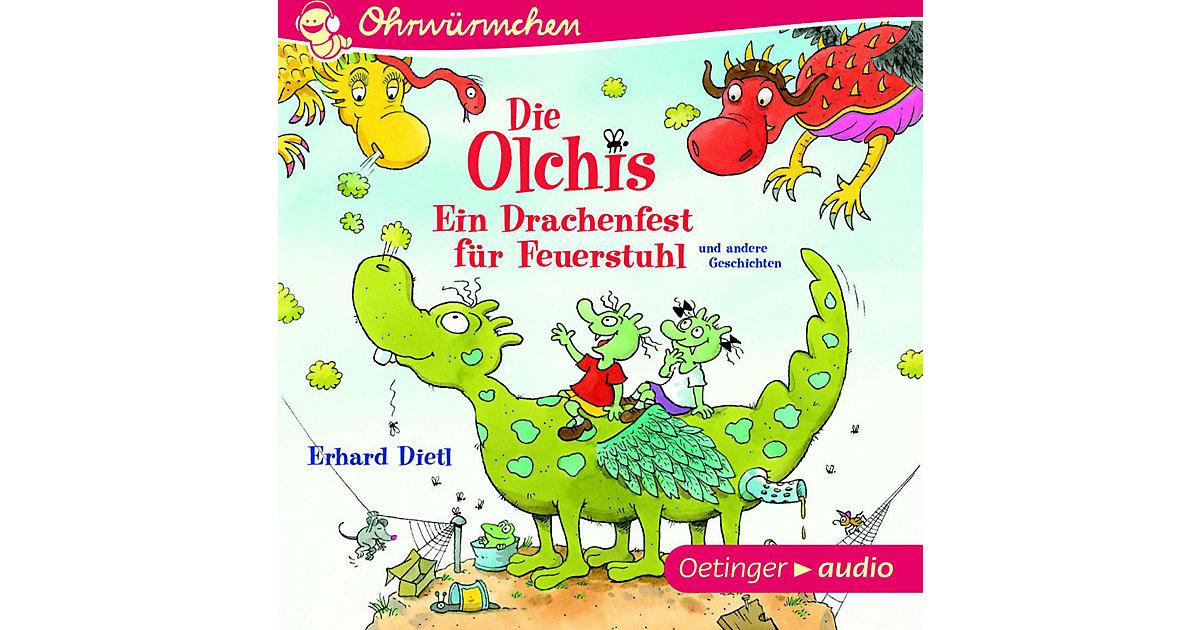 Die Olchis: Ein Drachenfest Feuerstuhl und andere Geschichten, 1 Audio-CD Hörbuch  Kinder
