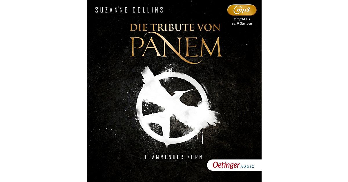Die Tribute von Panem: Flammender Zorn, 2 MP3-CDs