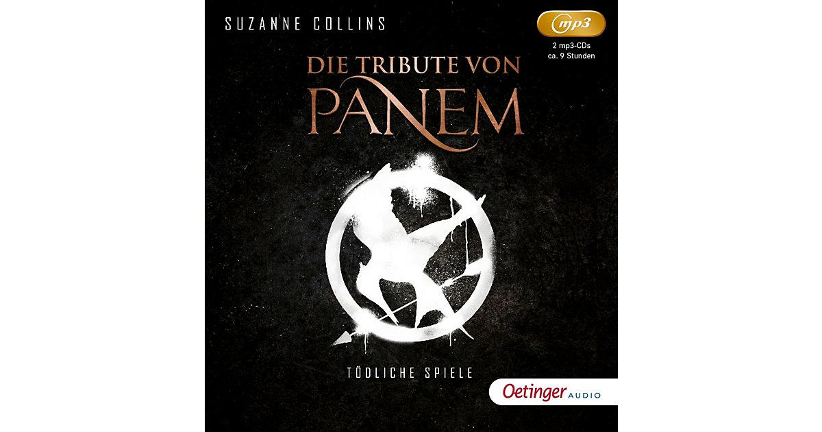 Die Tribute von Panem: Tödliche Spiele, 2 MP3-CDs Hörbuch