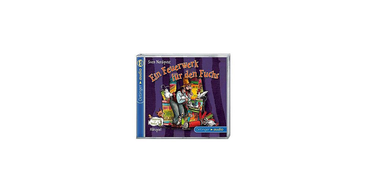 Pettersson & Findus: Ein Feuerwerk den Fuchs, 1 Audio-CD Kinder