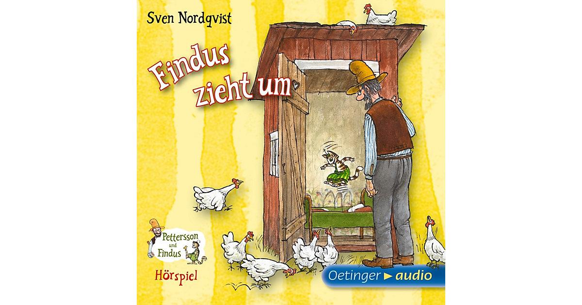 Pettersson & Findus: Findus zieht um, 1 Audio-CD Hörbuch