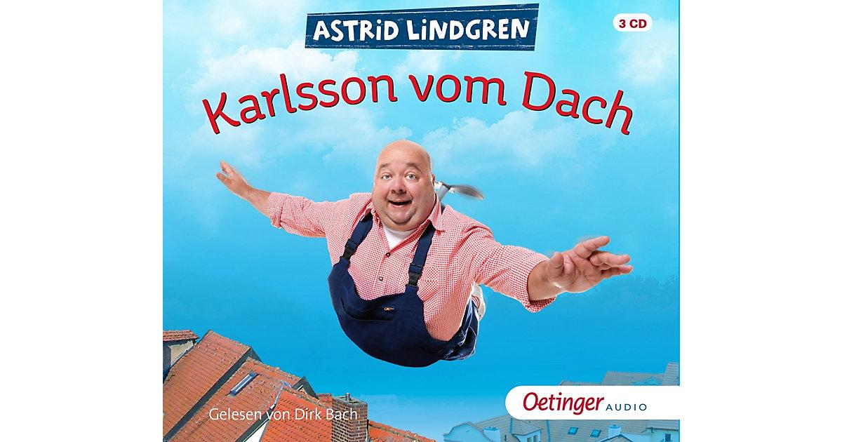 Karlsson vom Dach, 3 Audio-CDs