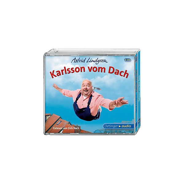 Karlsson vom Dach, 3 Audio-CDs