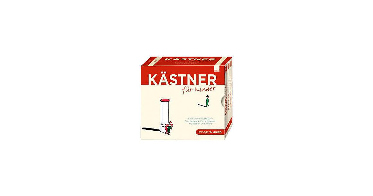 Kästner Kinder, 10 Audio-CDs Kinder