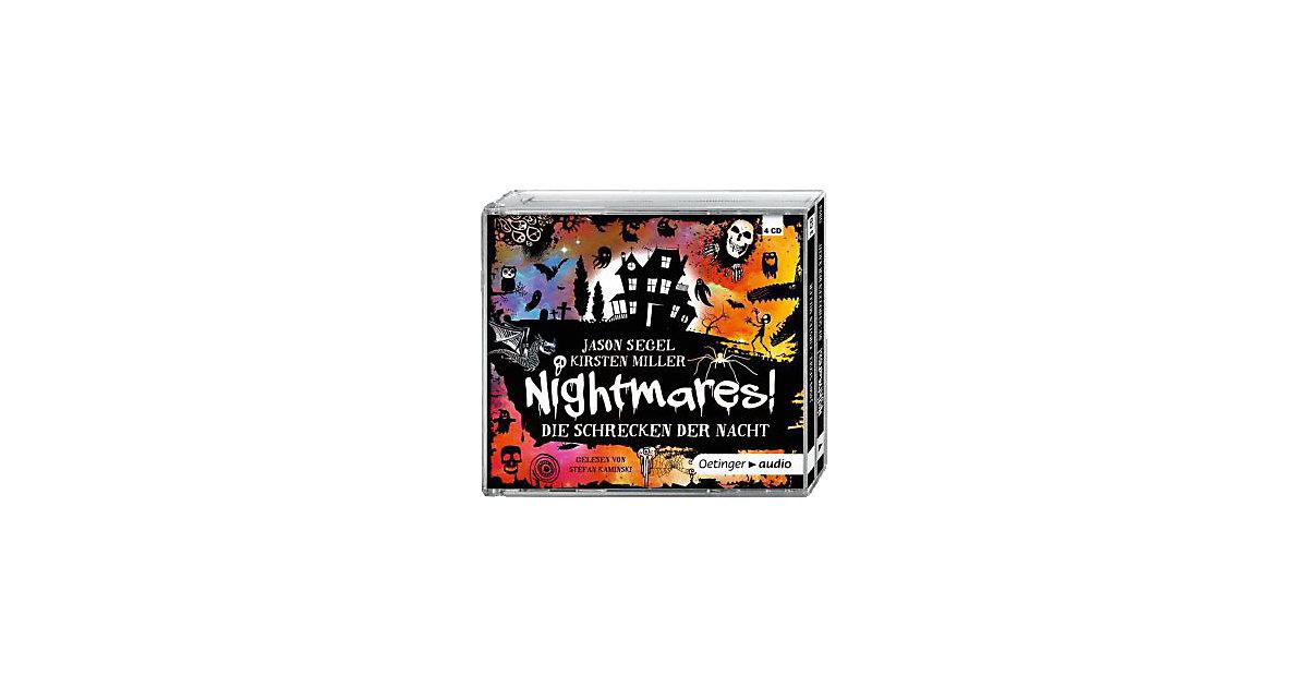 Nightmares!: Die Schrecken der Nacht, 4 Audio-CDs