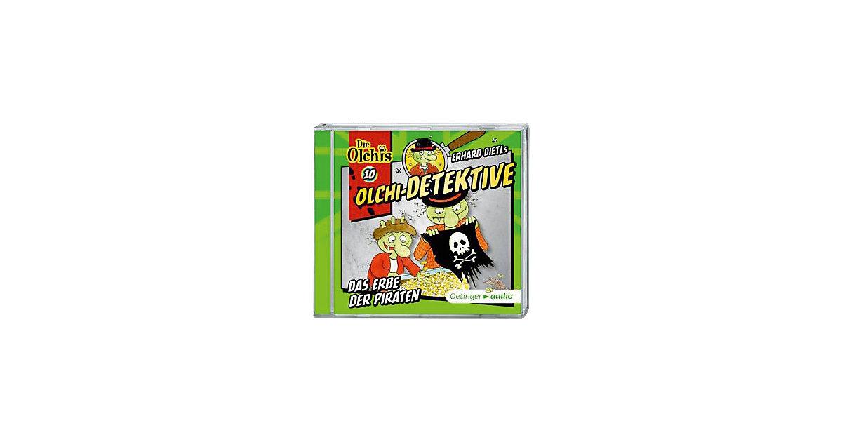 Olchi-Detektive: Das Erbe der Piraten, 1 Audio-CD, Teil 10