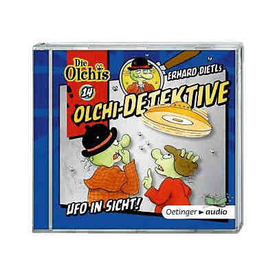 Olchi-Detektive: Ufo in Sicht, 1 Audio-CD, Teil 14