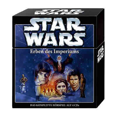 Star Wars Box 1: Erben des Imperiums, 4 Audio-CDs