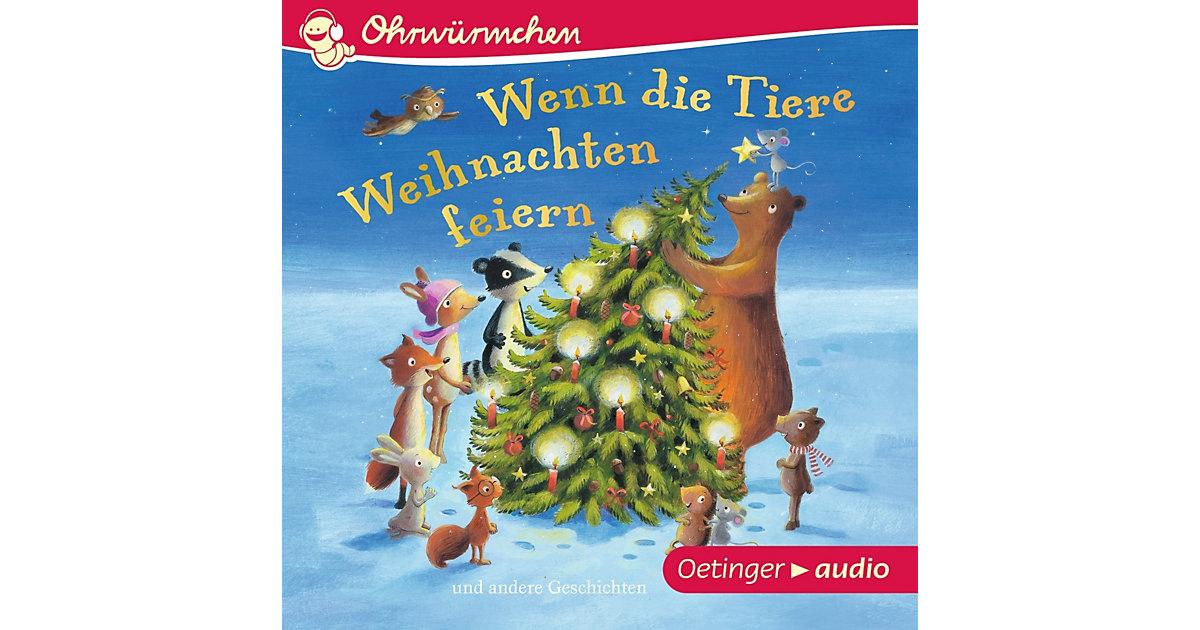 Wenn die Tiere Weihnachten feiern, Audio-CD Hörbuch