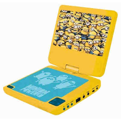 minions tragbarer dvd player minions mytoys. Black Bedroom Furniture Sets. Home Design Ideas