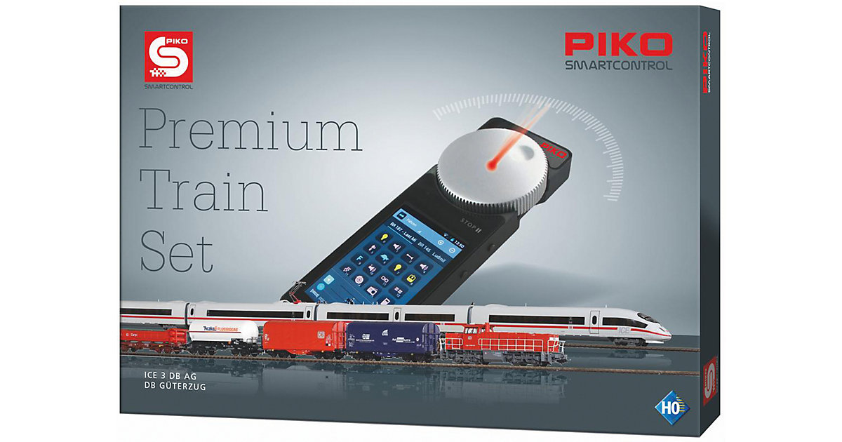 PIKO SmartControl Premium Train Set - ICE3 & G1...