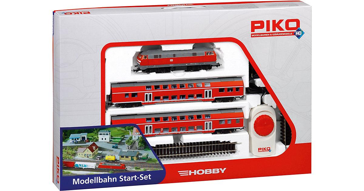 PIKO Spur H0 - Start-Set Doppelstockzug DB Regi...
