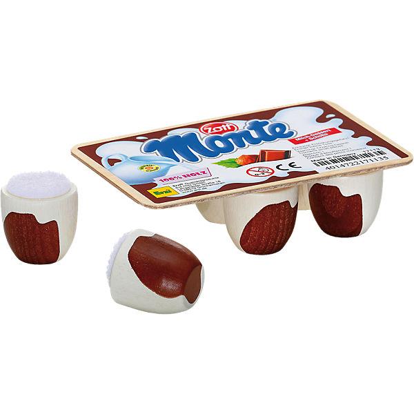 Spiellebensmittel Schoko-Milch-Dessert Monte von Zott, ERZI