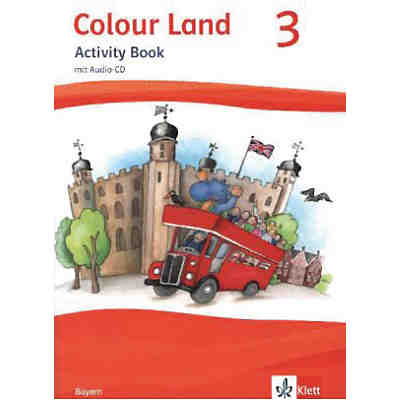 Colour Land ab Klasse 3, Ausgabe  Bayern: Activity Book, m. Audio-CD