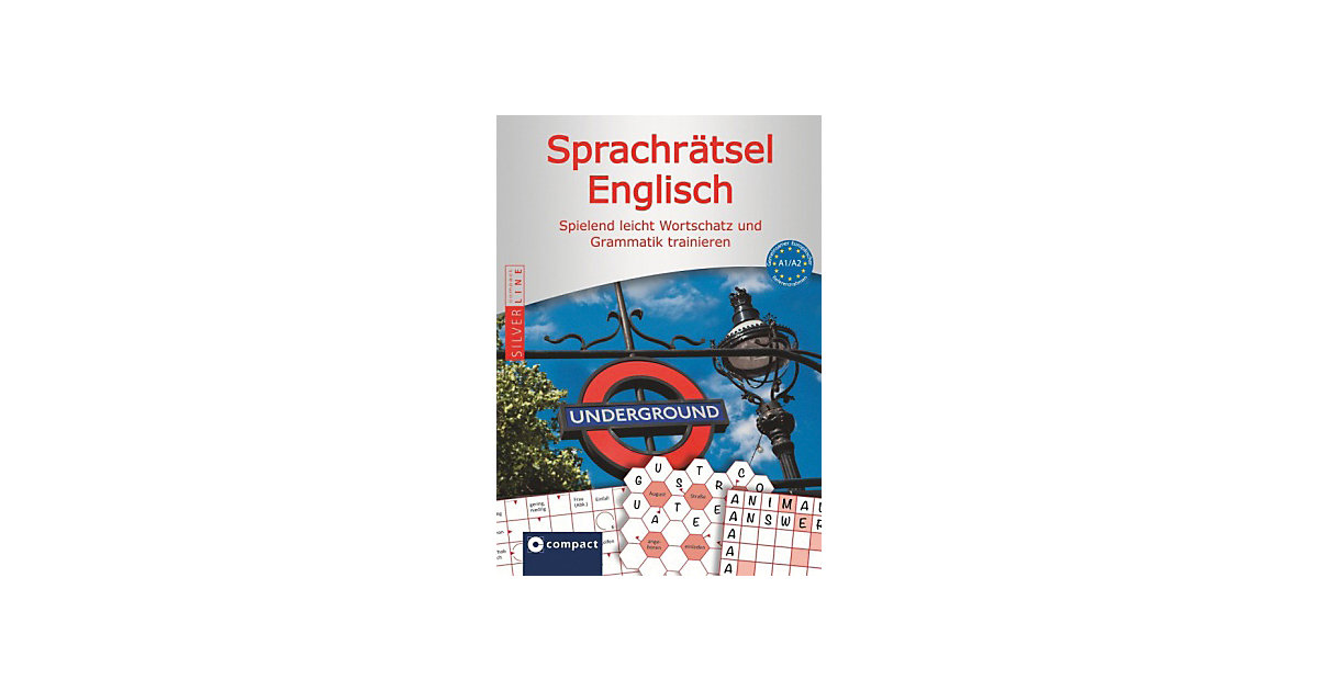 Compact Sprachrätsel Englisch - Niveau A1/A2