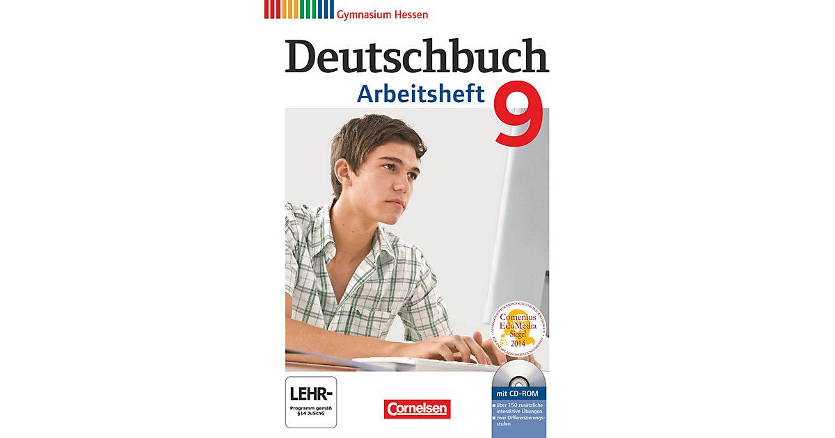 Deutschbuch, Gymnasium Hessen: 9. Schuljahr, Ar...