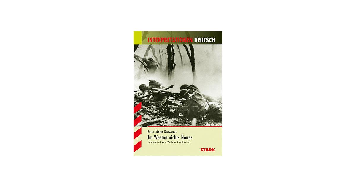 Erich Maria Remarque ´Im Westen nichts Neues´ [...