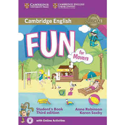 Fun for Movers (Third Edition): Student's book with audio and online activities