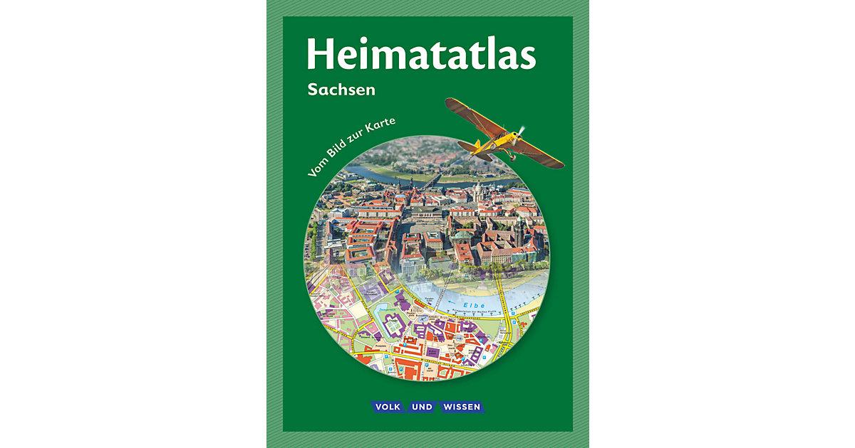 Heimatatlas: Heimatatlas die Grundschule, Sachs...