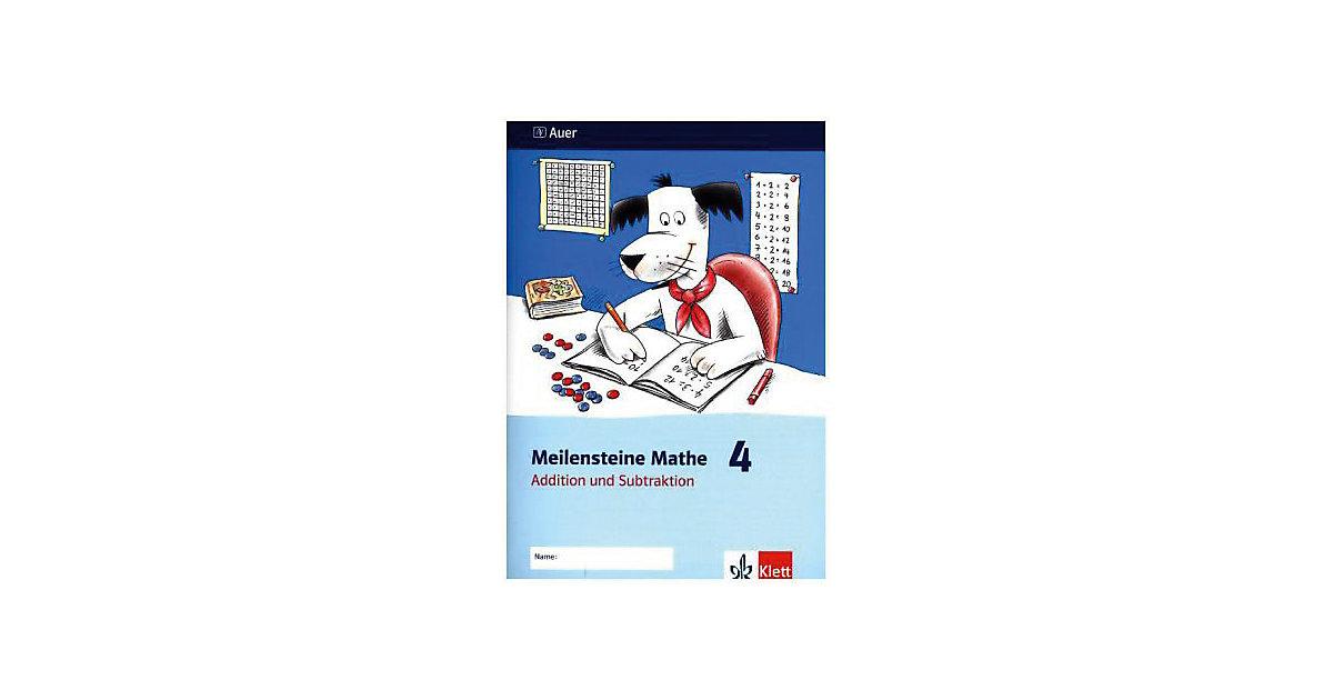 Meilensteine Mathe: 4. Schuljahr, Addition und Subtraktion [Att8:BandNrText: 7022]