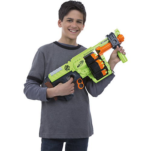 "Бластер Зомби Nerf ""Ордовик"" от Hasbro"