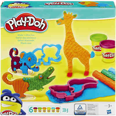 Play-Doh - Safari Knetwelt