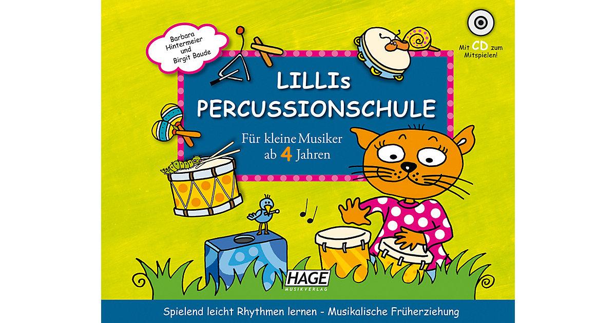 Lillis Percussionschule, mit Audio-CD