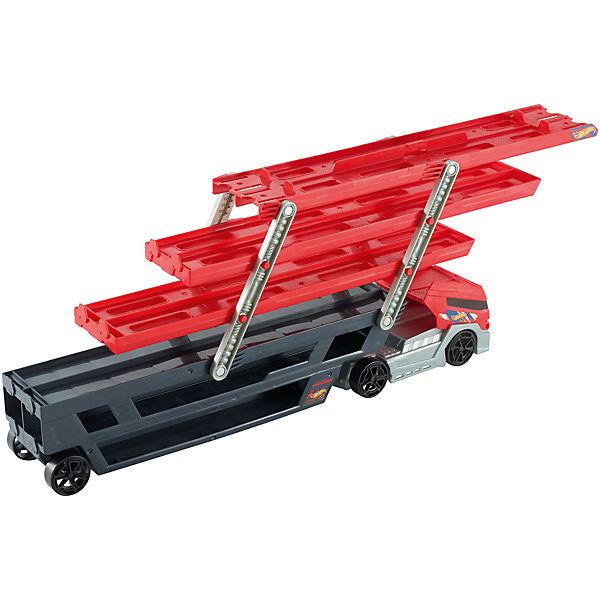 Hot wheels mega fahrzeug transporter mattel mytoys