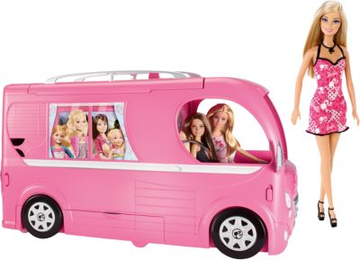 Super Ferien Camper + Chic Barbie