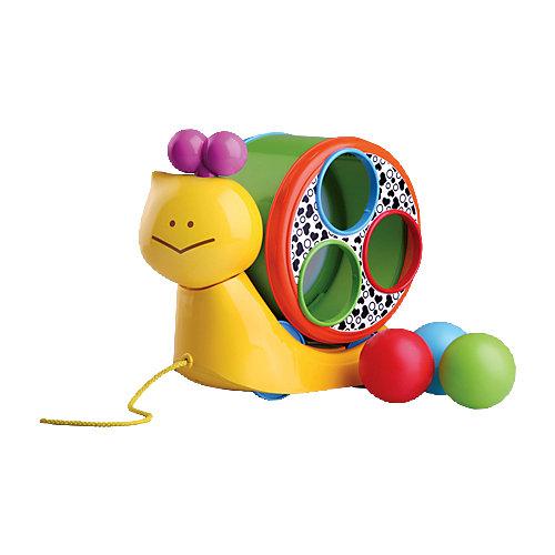 """Игрушка """"Веселая улитка"""" на веревочке, Bkids от Infantino BKids"""