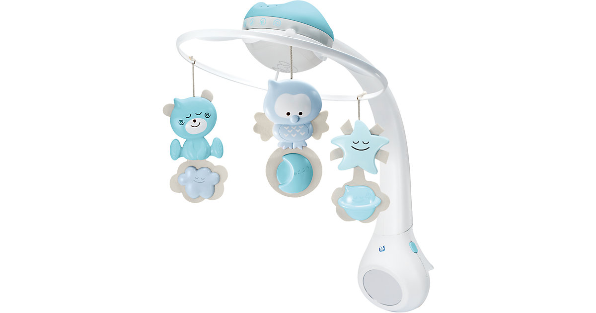 3 in 1 Musikmobile mit Traumlampe, blau