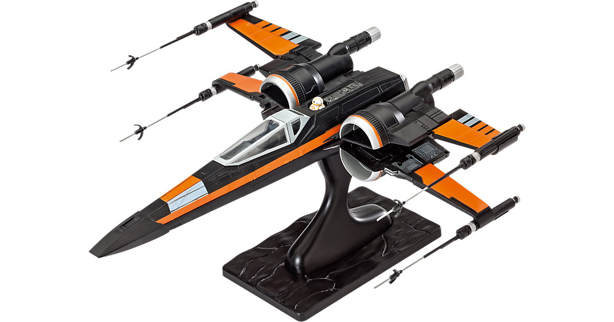 Revell Modellbausatz ´´easykit´´ Star Wars Poe´s X-Wing Fighter