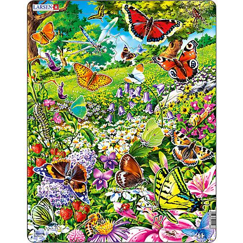 "Пазл Larsen ""Бабочки"", 42 элемента от Larsen"