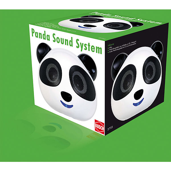 mp3 spieler panda mit usb und sd karten slot mytoys. Black Bedroom Furniture Sets. Home Design Ideas