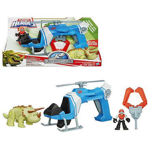 Набор: динозавр Трицератопс и транспортное средство, Мир Юрского Периода от Hasbro