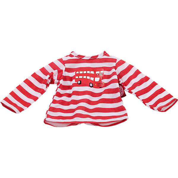 Puppenkleidung T-Shirt, London bus 30-33 cm, Götz
