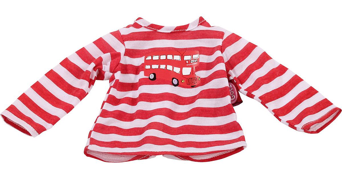 Puppenkleidung T-Shirt, London bus 42-46 cm