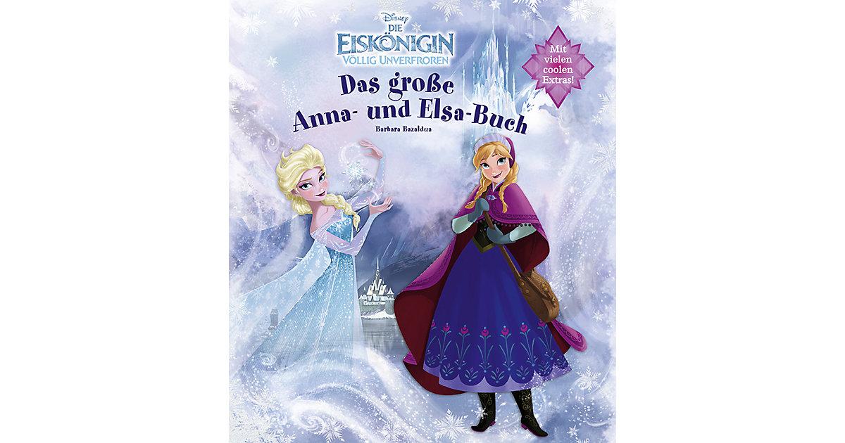 Disney Die Eiskönigin: Das große Anna- und Elsa...