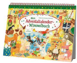 Mein Adventskalender Wimmelbuch