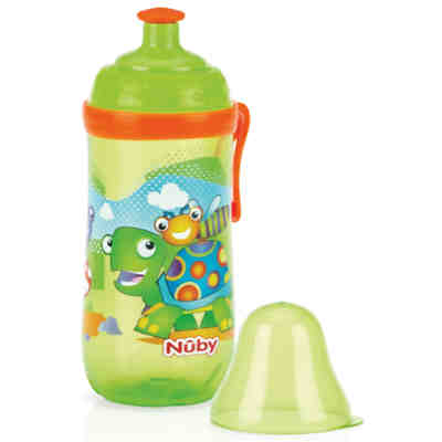 Trinkflasche Pop-up Cup, 360 ml, grün