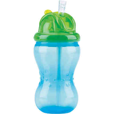 Soft Flip-It Trinkhalmflasche 355 ml, blau