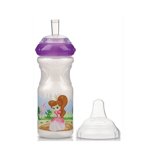 Trinkflasche Emotion Sport-Sipper PRINCESS, lila, 300 ml