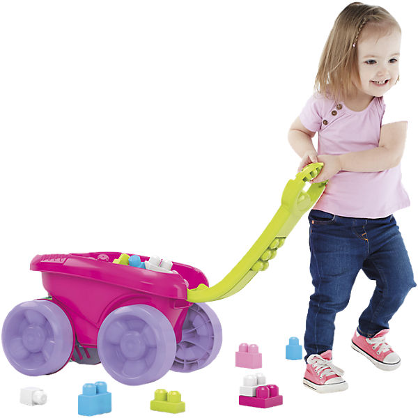 Mega Bloks First Builders - Block Picker Pink