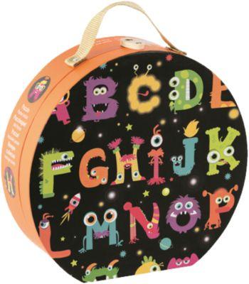 Bodenpuzzle ABC Monster 50 Teile