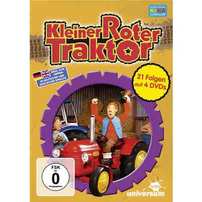 kleiner roter traktor spielzeug