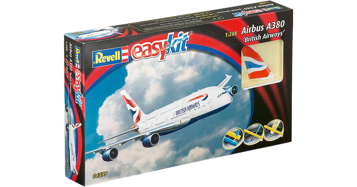 Revell Modellbausatz ´´easykit´´ Airbus A380 Br...