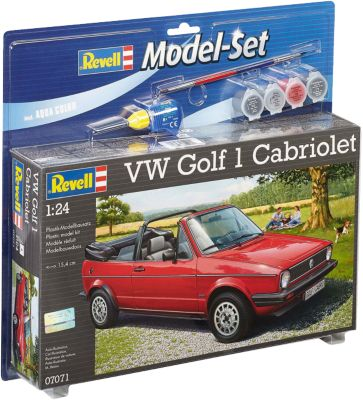Revell Modellbausatz - Model Set VW Golf 1 Cabrio